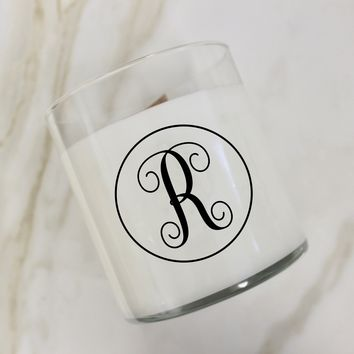 Initial R Candle