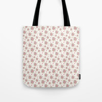 roses and peonies Tote Bag by sylviacookphotography