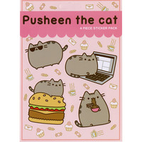 Pusheen Eat Sticker Sheet