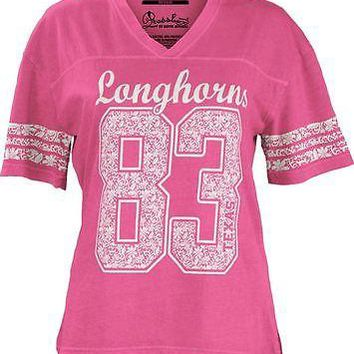Texas Longhorns Women's Annell T-shirt Pink