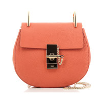 CHLOÉ CHLOÉ DREW SMALL BAG ORANGE