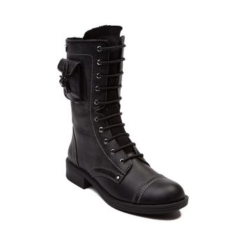 Womens Roxy Seattle Combat Boot