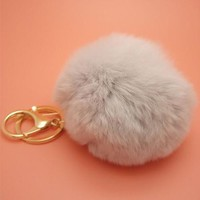 Furball Pompom Keychain (13 colors)