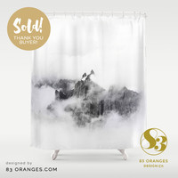 *Voice & Reality* shower Curtain ~ Sold! #society6 #decor #interiors #home by 83oranges.com | Society6
