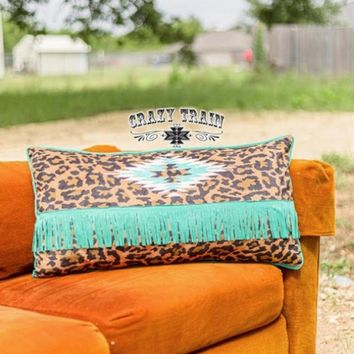 Lounger Leopard Pillow by Crazy Train