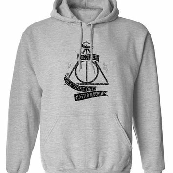 Harry Potter master of death hogwarts together triangle unisex womens mens ladies  print  Hoodie sweatshirt pullover, jumper sweater