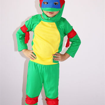 Halloween Costume For Kids Boy Ninja Turtles Costume Children & Best Ninja Turtle Halloween Products on Wanelo