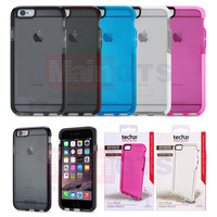 "Tech21 Evo Mesh Drop Protective Impact Case for iPhone 6 4.7 inch Soft TPU Tech 21 Shell for iPhone 6 Plus 5.5"" in Retail Box"