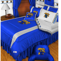NCAA Kentucky Wildcats Comforter Pillowcase College Bedding: Queen