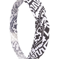 Tribal Print Headwrap | Wet Seal