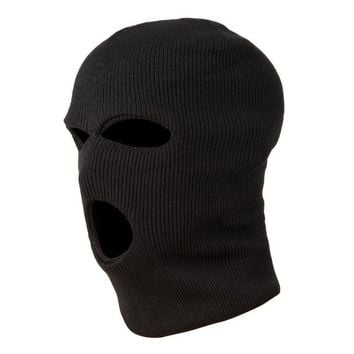 3 Holes Police Mask/Hood Color Black police Swat Gign Raid Special Forces Airsoft Paintball Ski Snow Surf Bicycle mask
