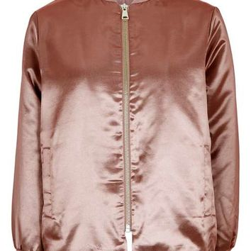 Shiny Bomber Jacket - New In This Week - New In