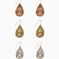 Southwest Etched Earring Set | Jewelry - Southwest Style | charming charlie
