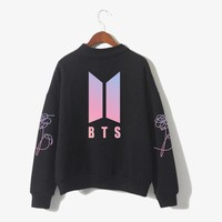 Bangtan Boys Unisex Cap Hoodie Love Yourself Sweatershirt