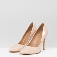 ASOS PARIS Wide Fit Pointed High Heels at asos.com