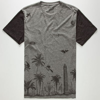 Kr3w Last Call Mens T-Shirt Heather Grey  In Sizes