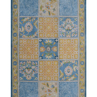 The Rug Market Persian Hand-Tufted Rug - Yellow