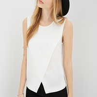 Asymmetrical Split-Front Top