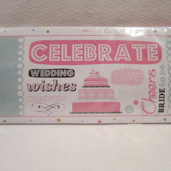 bride to be giant banner- teal Case of 24
