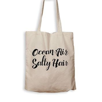 ac NOVO Ocean Air Salty Hair - Tote Bag