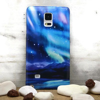 Note 4 Norwegian Northern Lights Samsung galaxy S6 edge case / / galaxy S5 mini case / / galaxy S4 case S4 mini Note 3 case LG G3 G4 Xperia