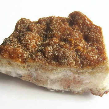 Fiery Citrine Crystal Cluster, LARGE Raw Orange Citrine Gemstone, 1/2 Pound Citrine Geode, Mineral Specimen, Metaphysical Supply, CTRS3s