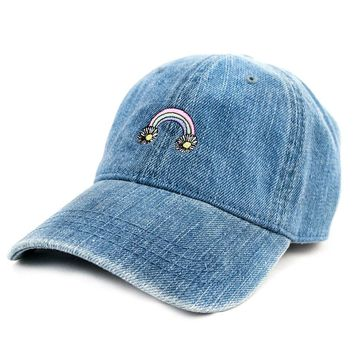 Daisy Rainbow Dad Hat