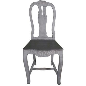 Pre-owned Early 1800's Baroque Style Side Chairs - Set of 6