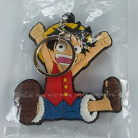 Brand New Anime One Piece Luffy Jumping Keychain