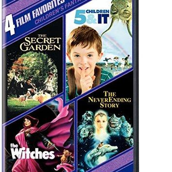 Various - 4 Film Favorites: Children's Fantasy (5 Children and It, The Neverending Story, The Secret Garden, The Witches)