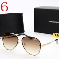 Armani Women Fashion Summer Sun Shades Eyeglasses Glasses Sunglasses