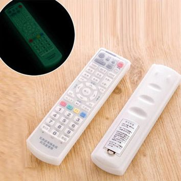 Home Use Silicone TV Remote Control Cover Air Condition Control Case Waterproof Dust Protective Storage Bag Organizer