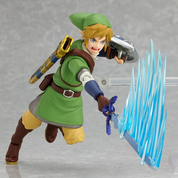 Legend of Zelda Posing strike ready for destruction 14 cm action figure toy original box