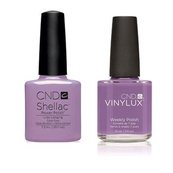 CND - Shellac & Vinylux Combo - Lilac Longing