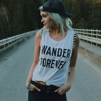 Wander Forever Muscle Tank – Wish You Were Northwest