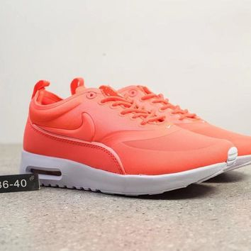 DCCK N280 Nike Air Max Thea Cushion Fashion Running Shoes Orange