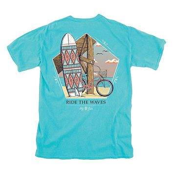 Ride the Waves Tee by Lily Grace