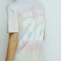 DIANE NEW YORK 32 TIE-DYE TOP