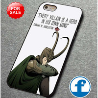Loki Quote 2   for iphone, ipod, samsung galaxy, HTC and Nexus phone case