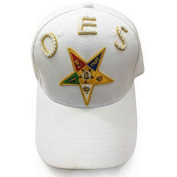 OES Order of the Eastern Star White Cap