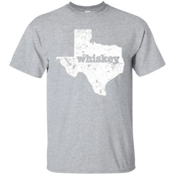 Whiskey & Texas- Funny Texas T Shirt