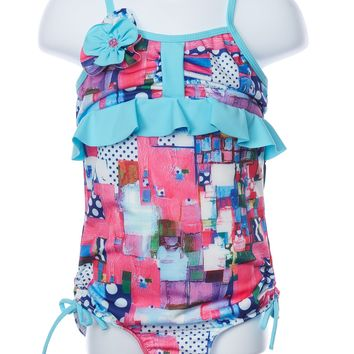 Isobella and Chloe Eureka One Piece Swimsuit
