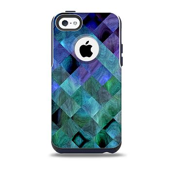 The Multicolored Tile-Swirled Pattern Skin for the iPhone 5c OtterBox Commuter Case