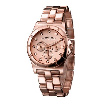 MARC BY MARC JACOBS fashion exquisite watch F-PS-XSDZBSH Rose gold