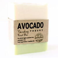 Avocado Yogurt Facial Bar