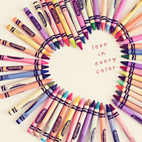 love in every color Stretched Canvas by Shannonblue