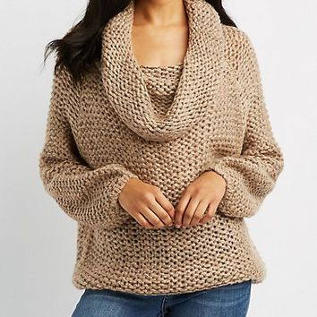Off-The-Shoulder Pullover Sweater | Charlotte Russe