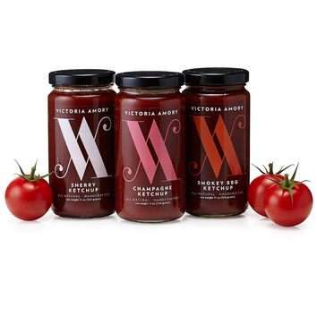 Ketchup Collection - Set of 3 | gourmet ketchup