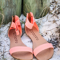 Electric Slide Coral Sandals