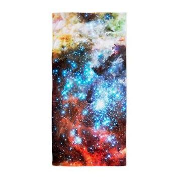 Colorful Star Clusters Collision Beach Towel> Beach Towels> The Universe by Douglas Fresh